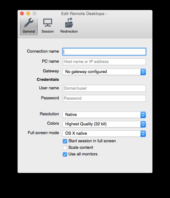 Remote Desktop Mac